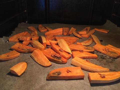 søde kartofler